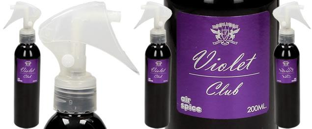 Parfém ve spreji Violet Club 200 ml