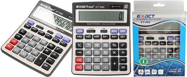 Velká digitální kalkulačka Exact ET-868