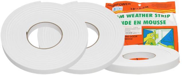 Těsnící oboustranná lepící páska 1,8 cm x 5,5 m