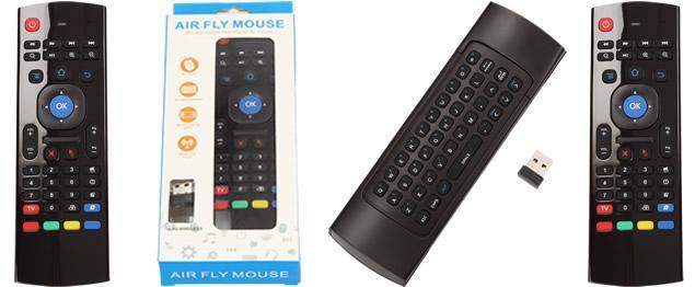 Multifunkční dálkový ovladač Air fly mouse