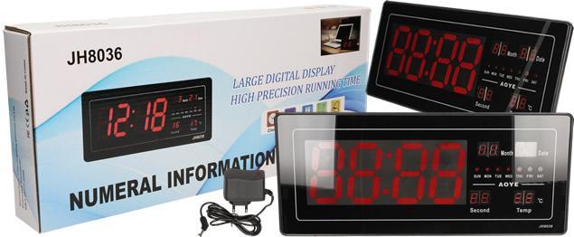 Digitální hodiny 4v1 s LED displejem