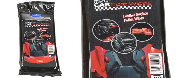 Deep Fresh vlhčené čistící ubrousky do auta