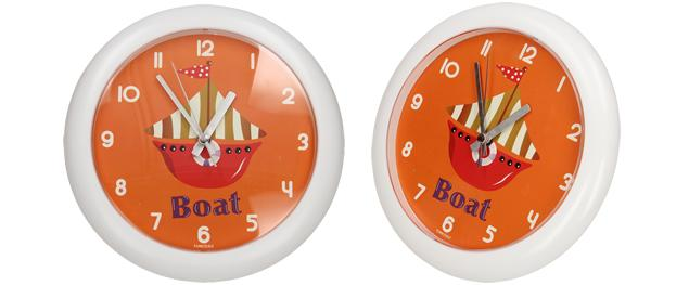 Nástěnné hodiny FLORINA FUNNY loď ručičkové