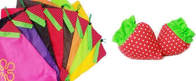 Skládací taška jahůdka