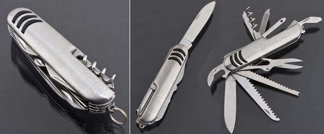 Skládací kapesní nůž 14v1