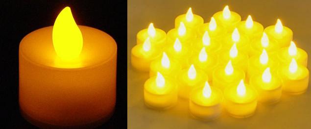 LED svíčka na baterie