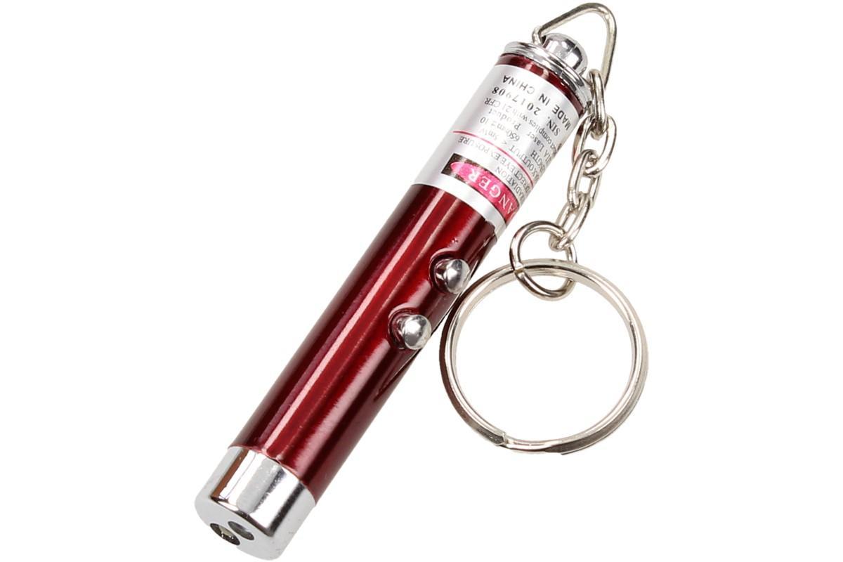 Foto 9 - Laserové ukazovátko s baterkou na klíče 2v1