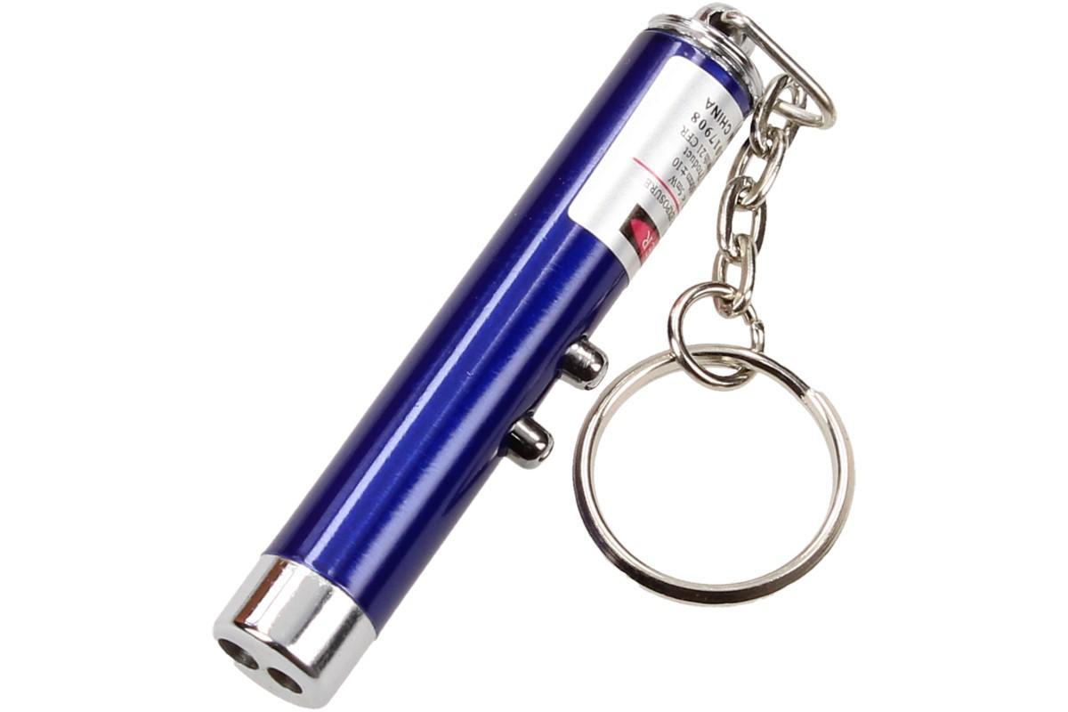 Foto 10 - Laserové ukazovátko s baterkou na klíče 2v1
