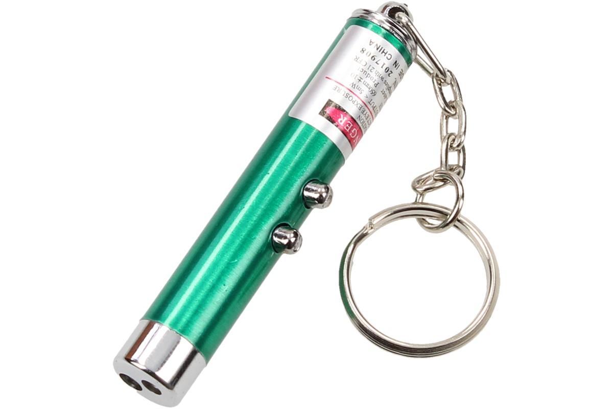 Foto 11 - Laserové ukazovátko s baterkou na klíče 2v1