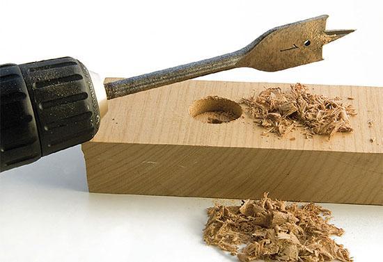 Foto 11 - Vrtáky do dřeva kopinaté, sada 6 ks model LO1B39