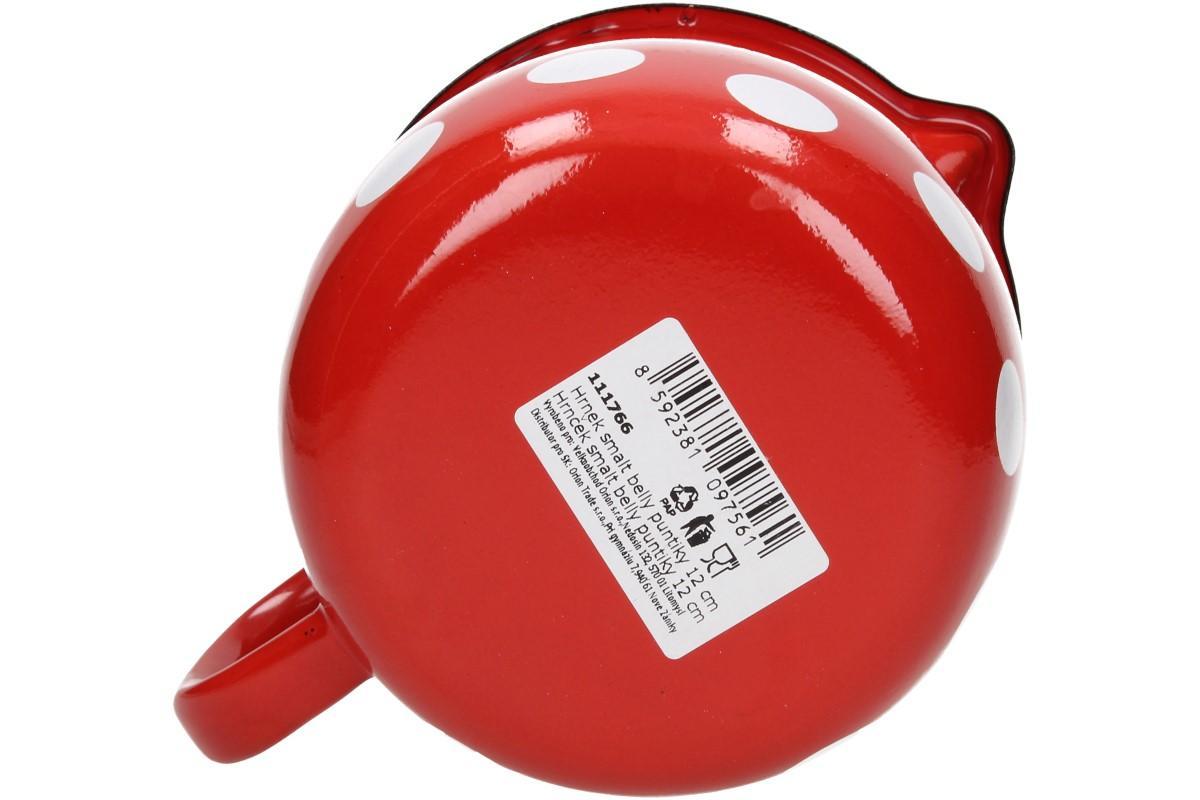 Foto 18 - Hrnek smalt červený puntík BELLY 12 CM