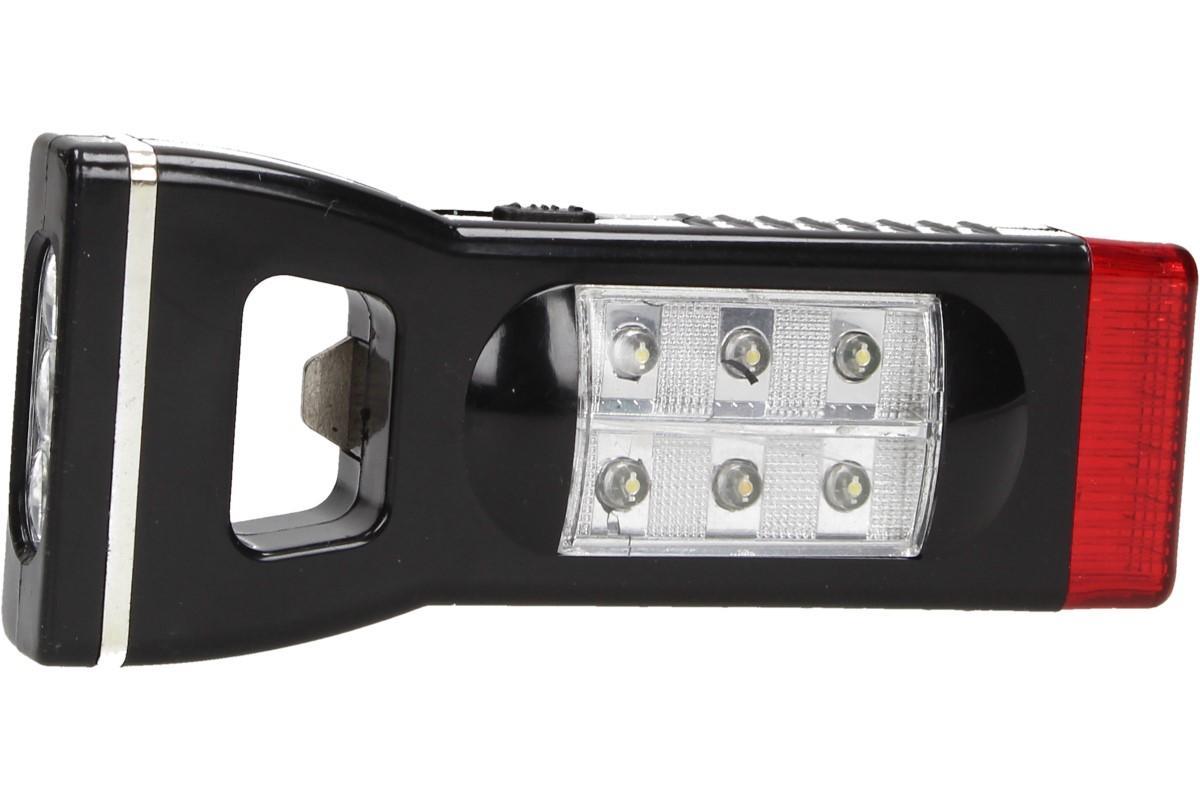 Foto 20 - Multifunkční Otvírák s LED baterkou Sanan 4v1