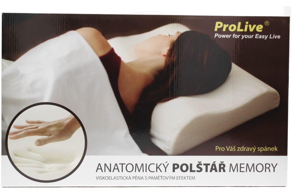 Foto 19 - Anatomický polštář ProLive 50x30x10cm