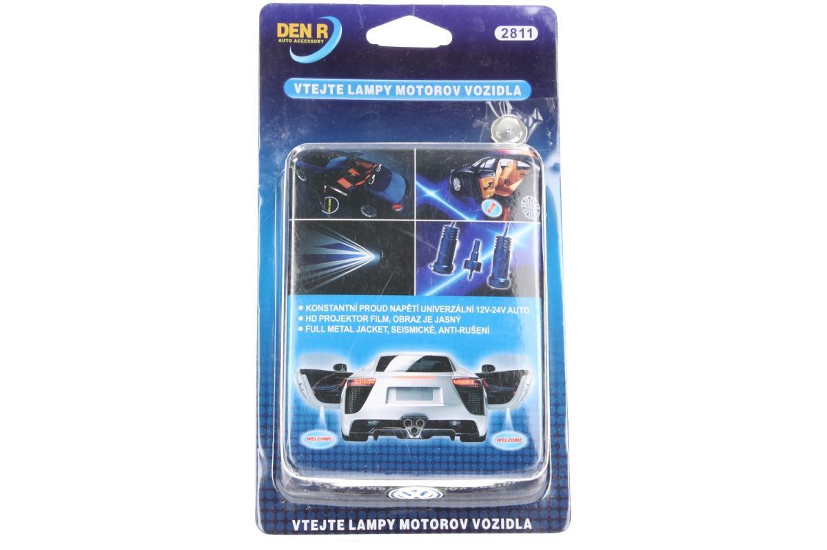 Foto 17 - Svítící LED logo projektor značky automobilu 2ks