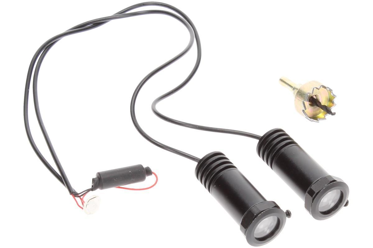 Foto 15 - Svítící LED logo projektor značky automobilu 2ks
