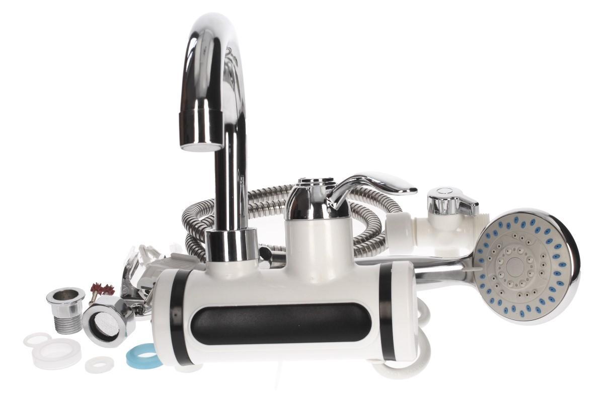 Foto 6 - Průtoková vodovodní baterie nástěnná se sprchou