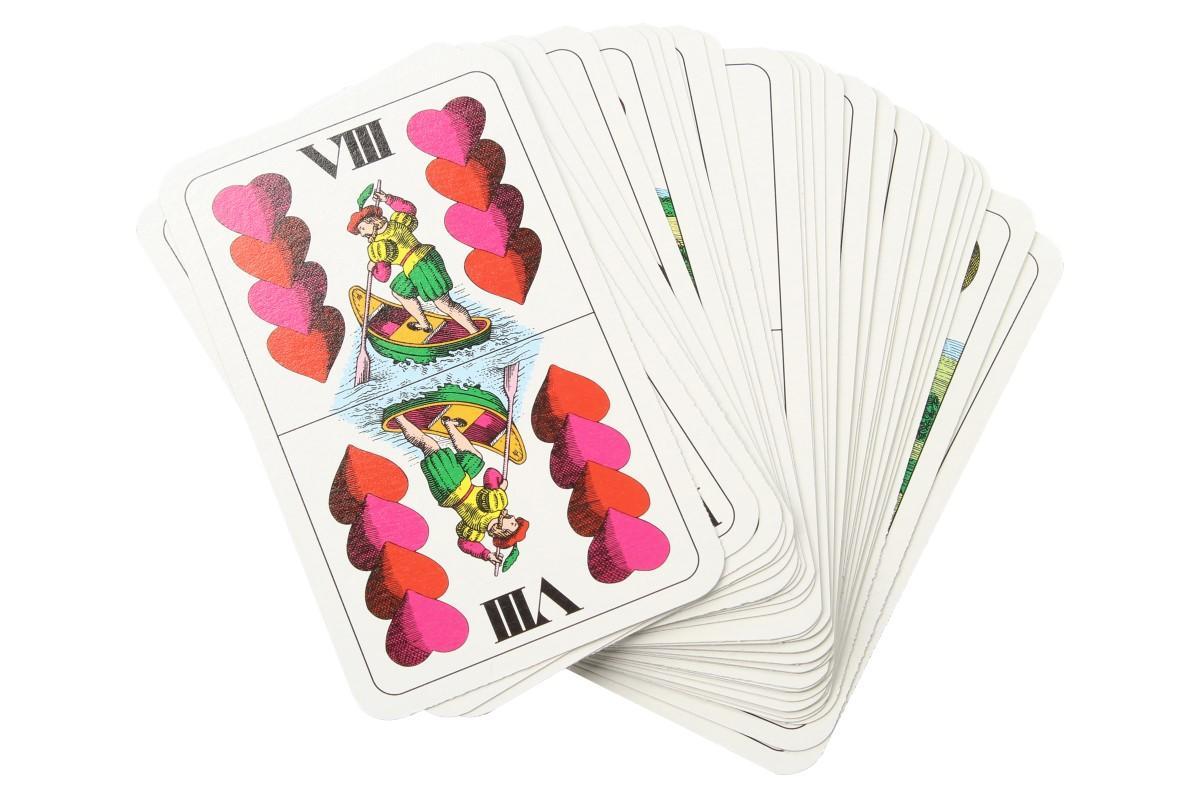 Foto 6 - Maryášové karty dvouhlavé 32 kusů