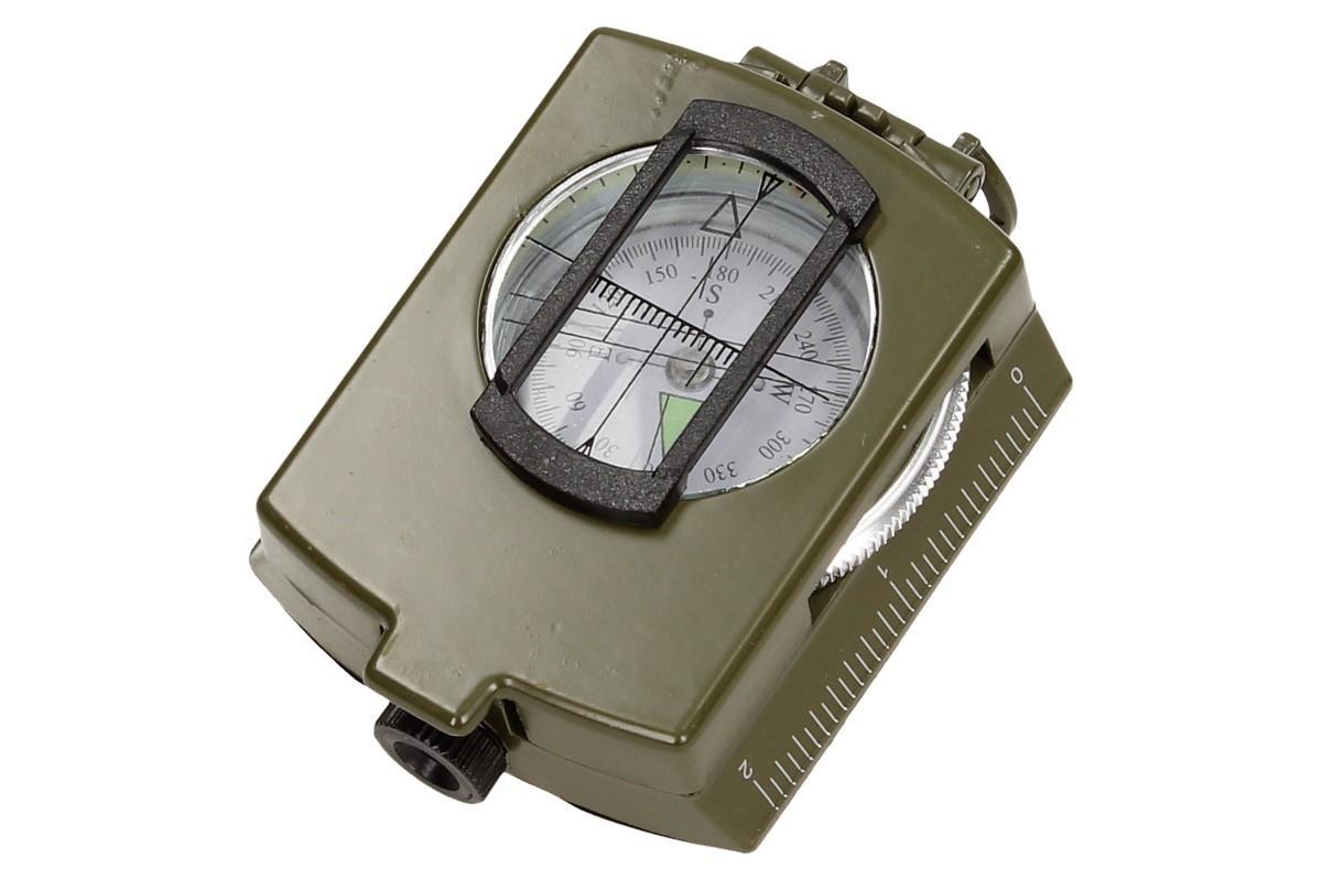 Foto 12 - Compass DC60 vojenského vzhledu zelený