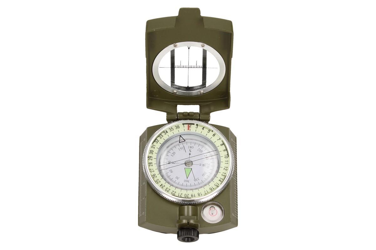 Foto 10 - Compass DC60 vojenského vzhledu zelený
