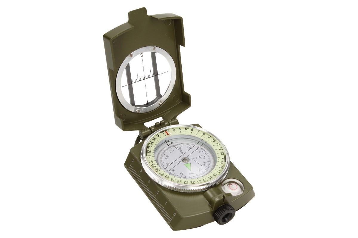 Foto 11 - Compass DC60 vojenského vzhledu zelený