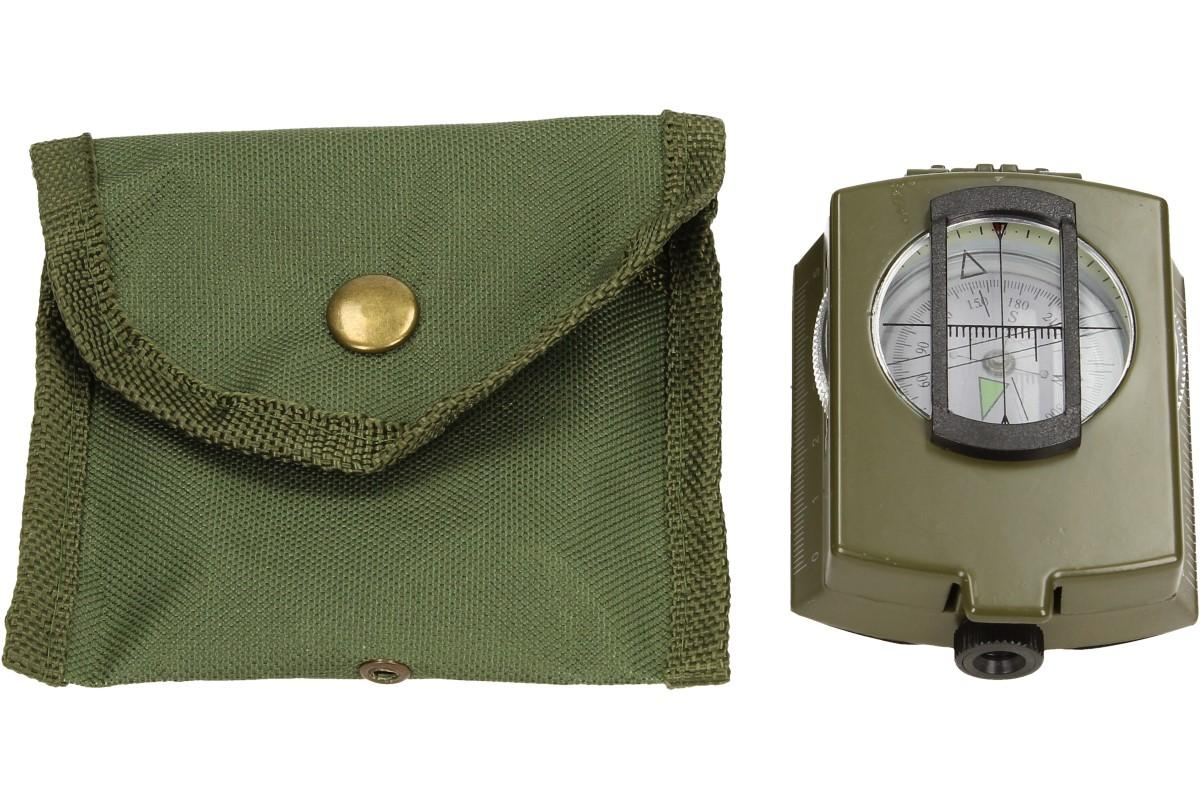 Foto 14 - Compass DC60 vojenského vzhledu zelený
