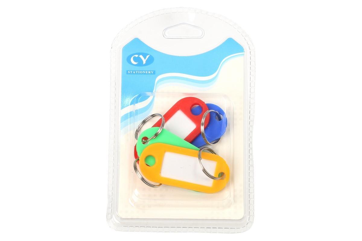 Foto 7 - Popisovací rozlišovač klíčů sada 4 kusy