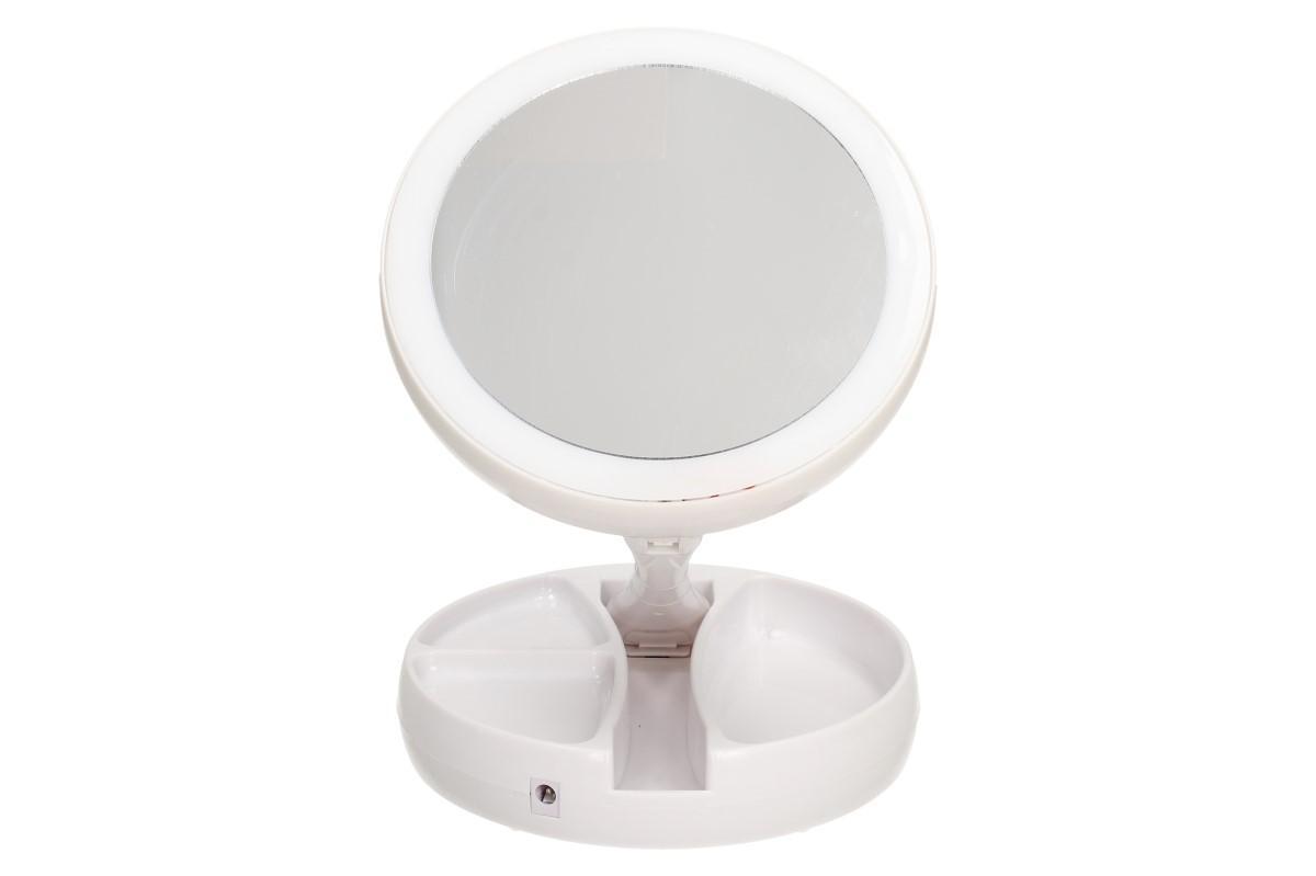 Foto 9 - Oboustranné zrcátko s LED podsvícením