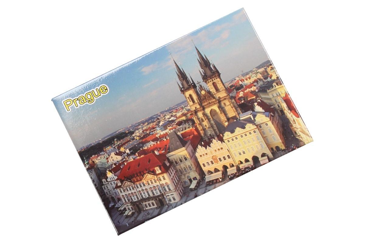Foto 7 - Praha Týnský chrám magnet 9 x 6,5 cm