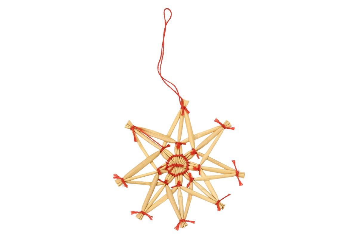Foto 14 - Vánoční slaměné dekorace na stromeček 26 kusů