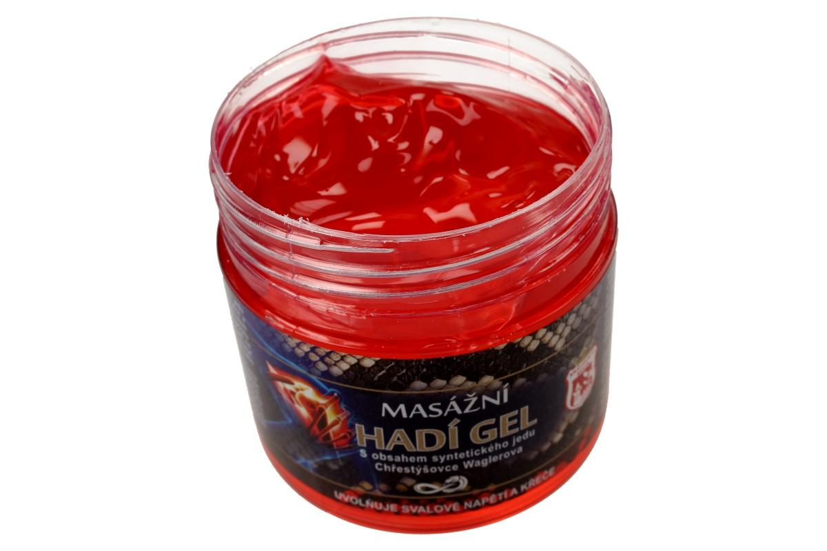 Foto 6 - Bylinná mast 150 ml - masážní hadí gel