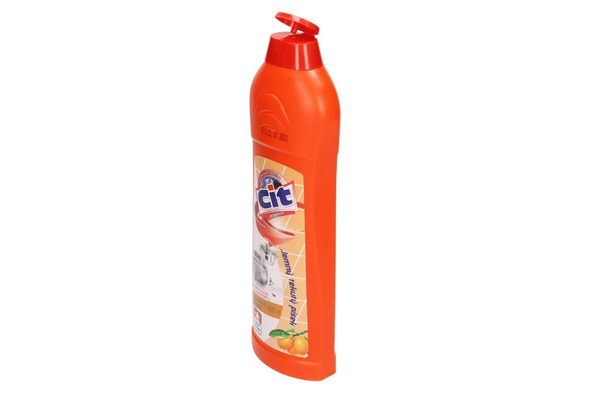 Foto 5 - CIT Jemný tekutý písek 600 g pomeranč