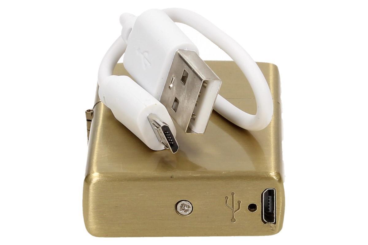 Foto 13 - Vyklápěcí plazmový zapalovač s USB nabíjením