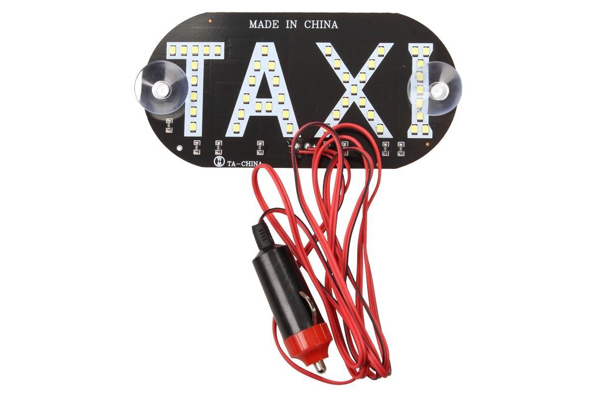Foto 6 - LED světelná značka taxi 14 x 7 cm