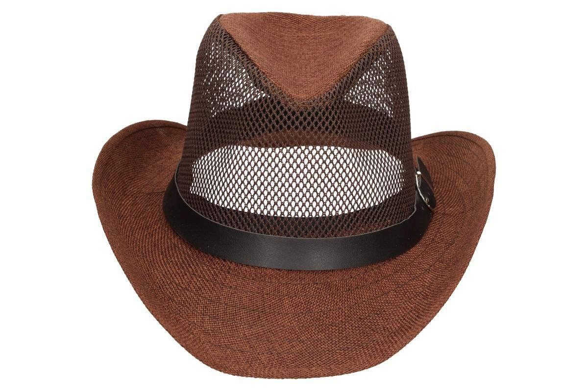 Foto 8 - Letní klobouk s děrováním a páskem