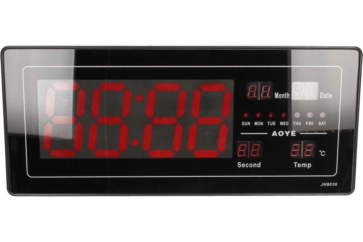 Foto 9 - Digitální hodiny 4v1 s LED displejem