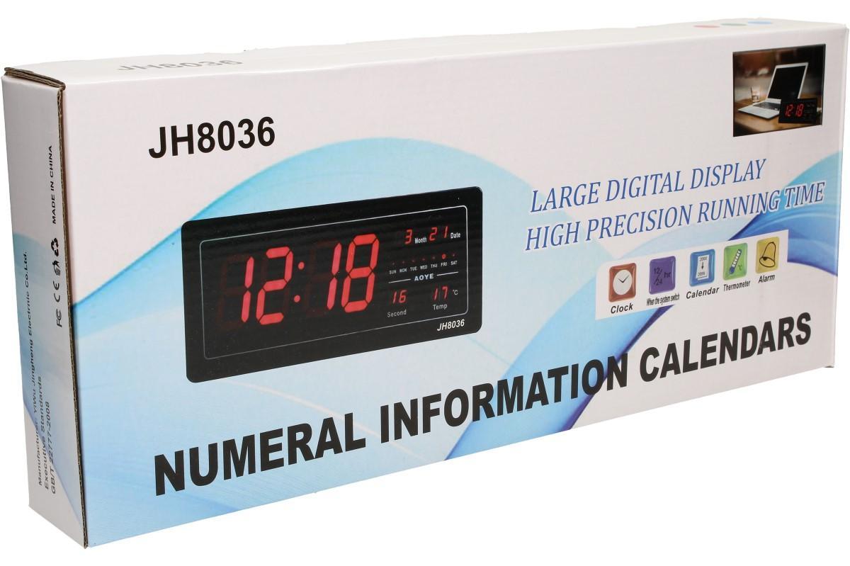 Foto 11 - Digitální hodiny 4v1 s LED displejem