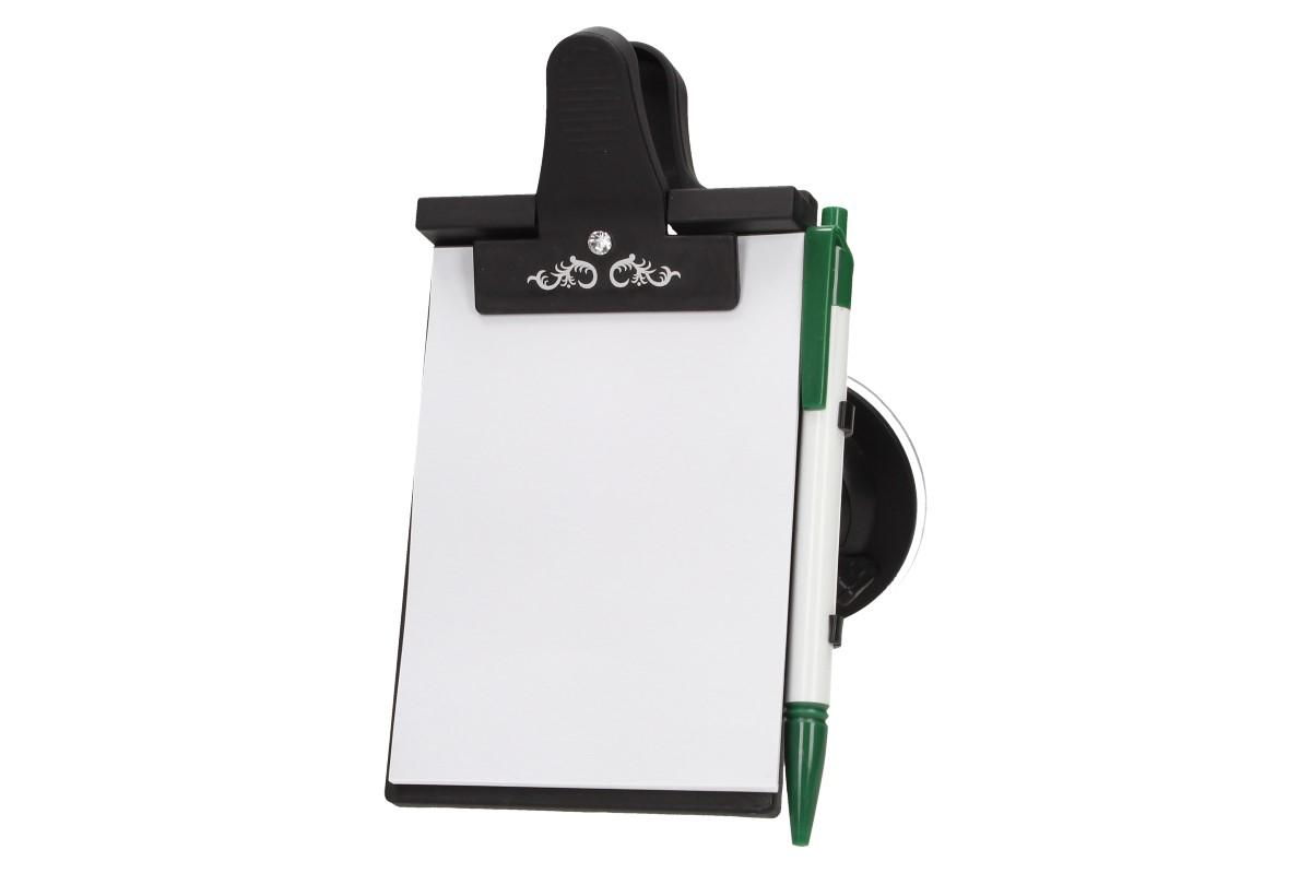 Foto 16 - Papírový tablet na přední sklo s klipsnou