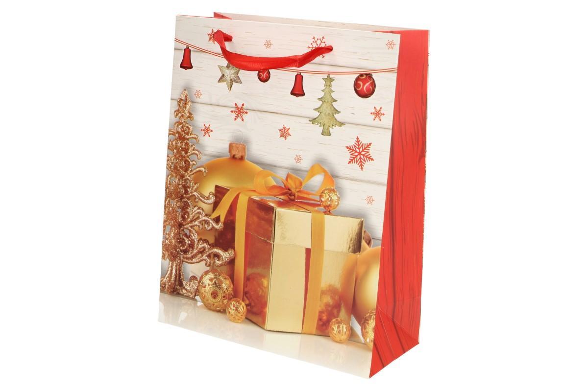 Foto 7 - Dárková vánoční taška dárek 23x18 cm
