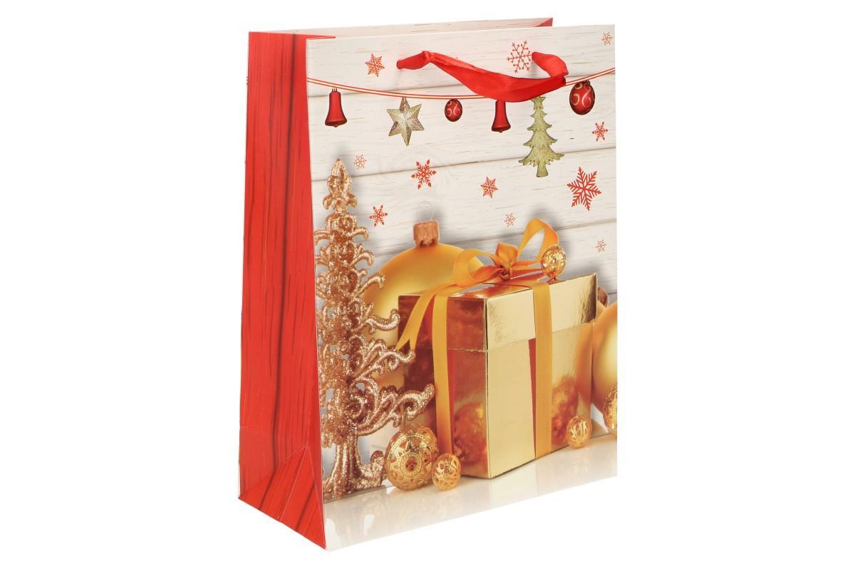 Foto 8 - Dárková vánoční taška dárek 23x18 cm