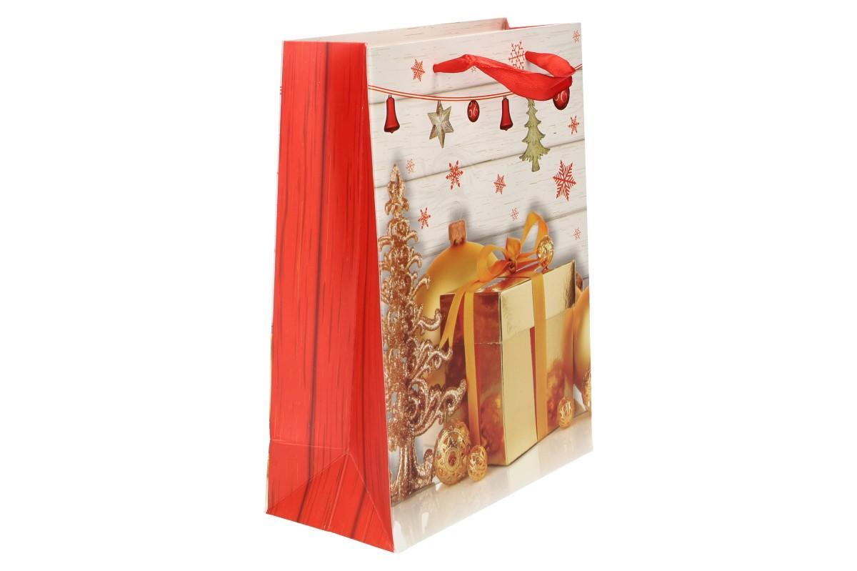 Foto 9 - Dárková vánoční taška dárek 23x18 cm