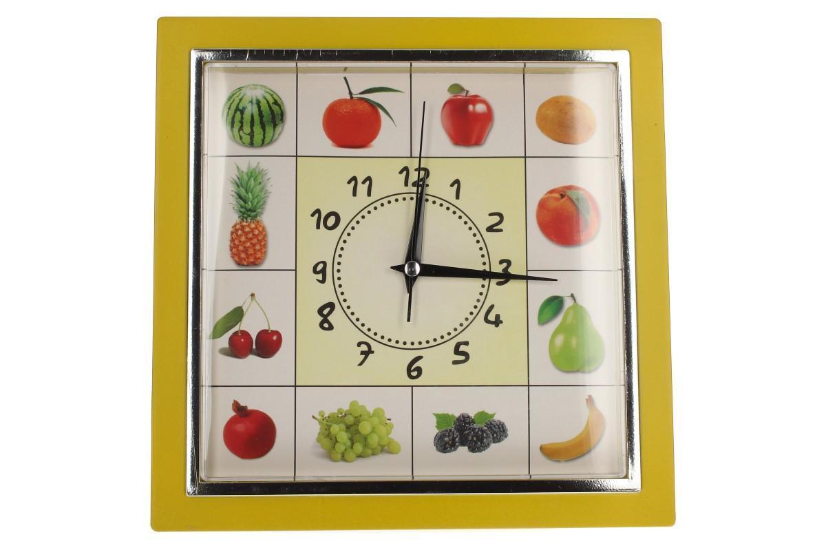 Foto 18 - Nástěnné hodiny FLORINA VEGA ovoce a zelenina ručičkové