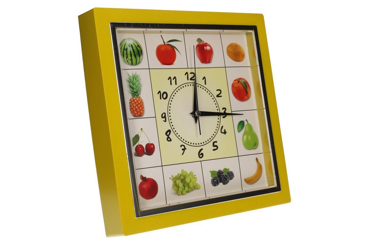 Foto 20 - Nástěnné hodiny FLORINA VEGA ovoce a zelenina ručičkové