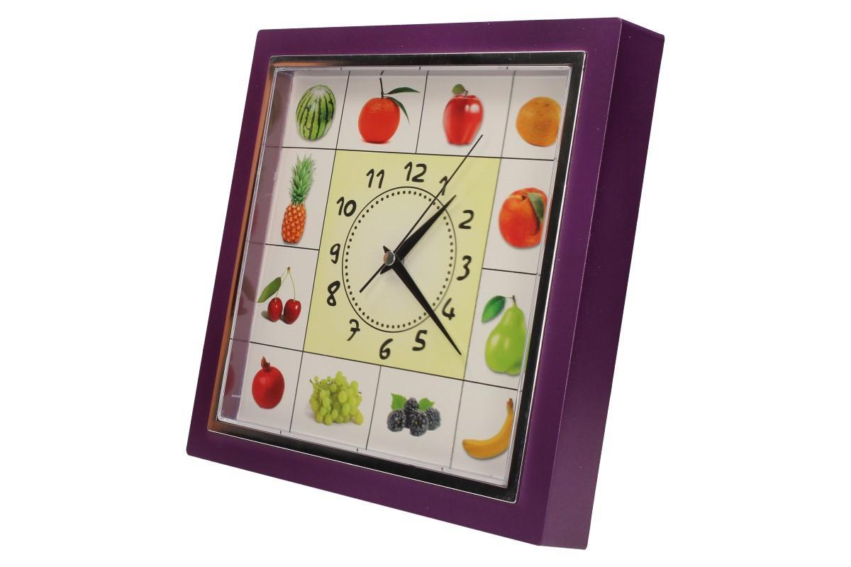Foto 22 - Nástěnné hodiny FLORINA VEGA ovoce a zelenina ručičkové