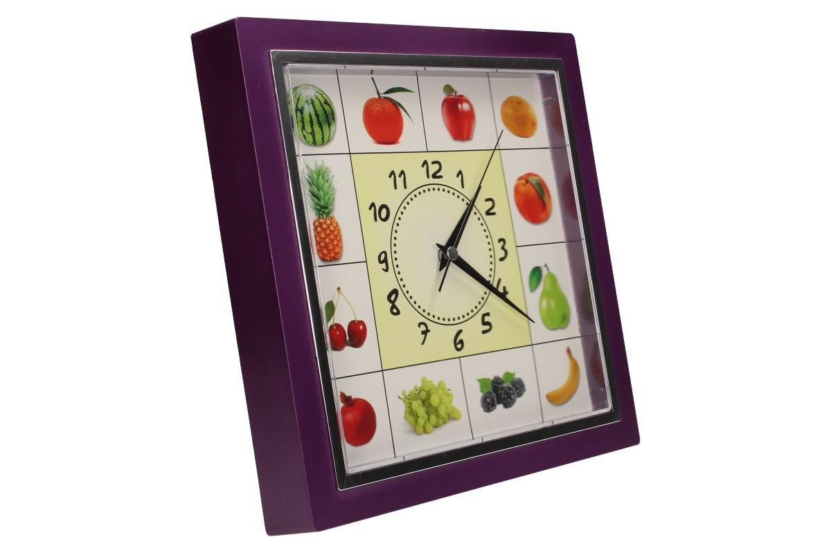 Foto 23 - Nástěnné hodiny FLORINA VEGA ovoce a zelenina ručičkové
