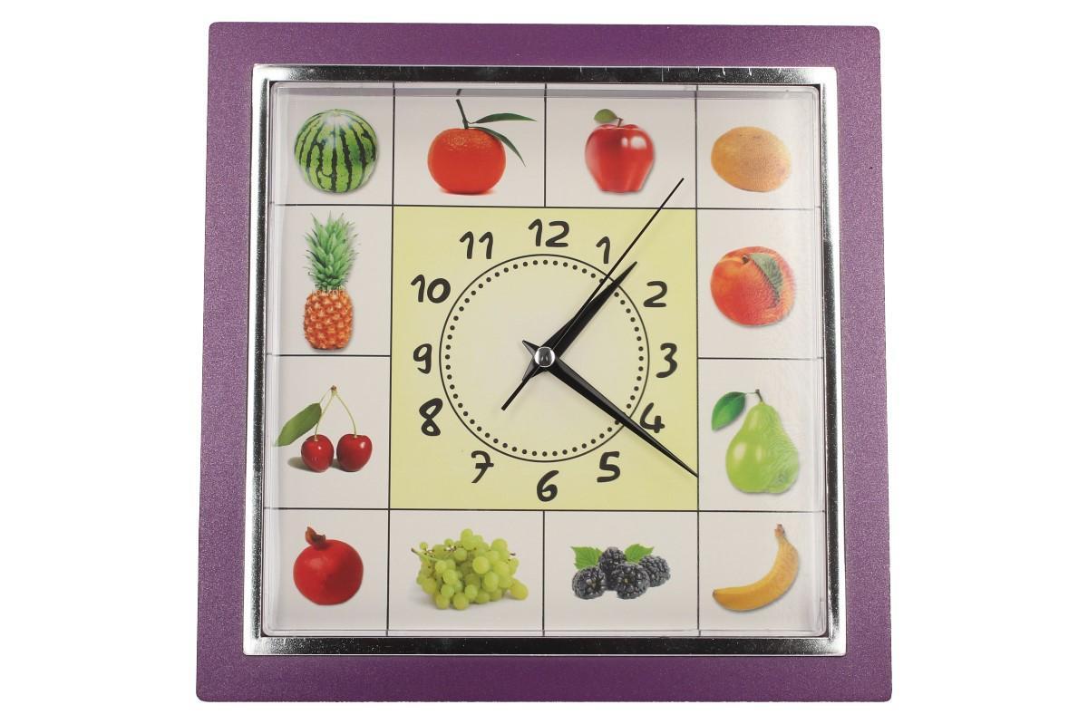 Foto 21 - Nástěnné hodiny FLORINA VEGA ovoce a zelenina ručičkové