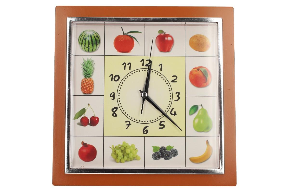 Foto 24 - Nástěnné hodiny FLORINA VEGA ovoce a zelenina ručičkové