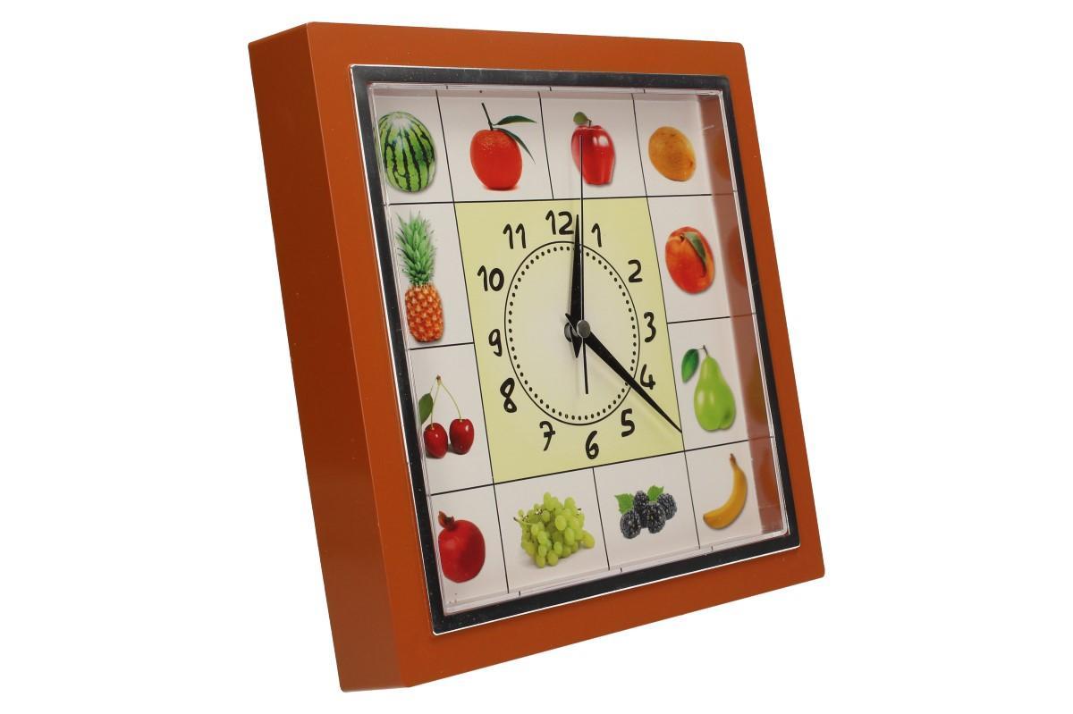 Foto 26 - Nástěnné hodiny FLORINA VEGA ovoce a zelenina ručičkové