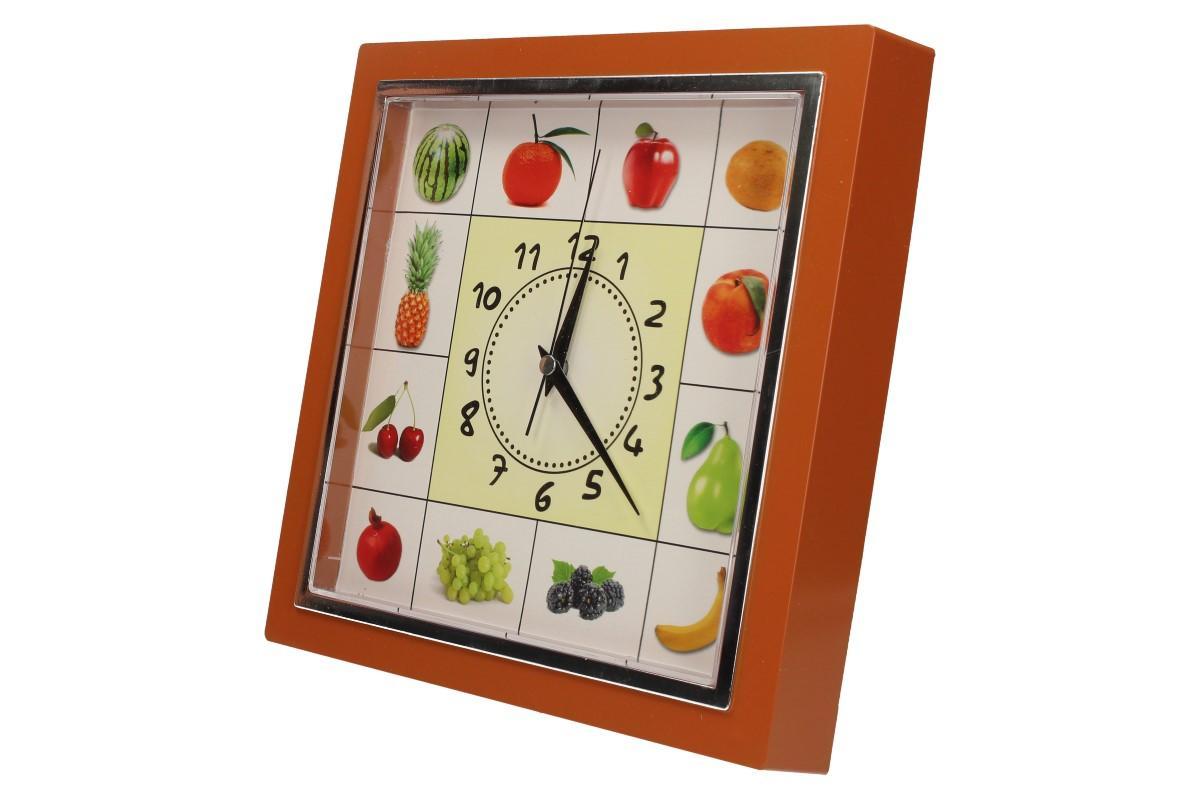 Foto 25 - Nástěnné hodiny FLORINA VEGA ovoce a zelenina ručičkové
