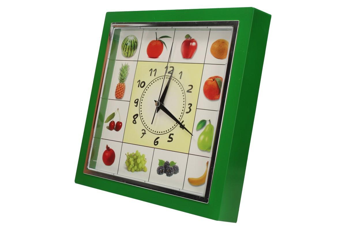 Foto 16 - Nástěnné hodiny FLORINA VEGA ovoce a zelenina ručičkové