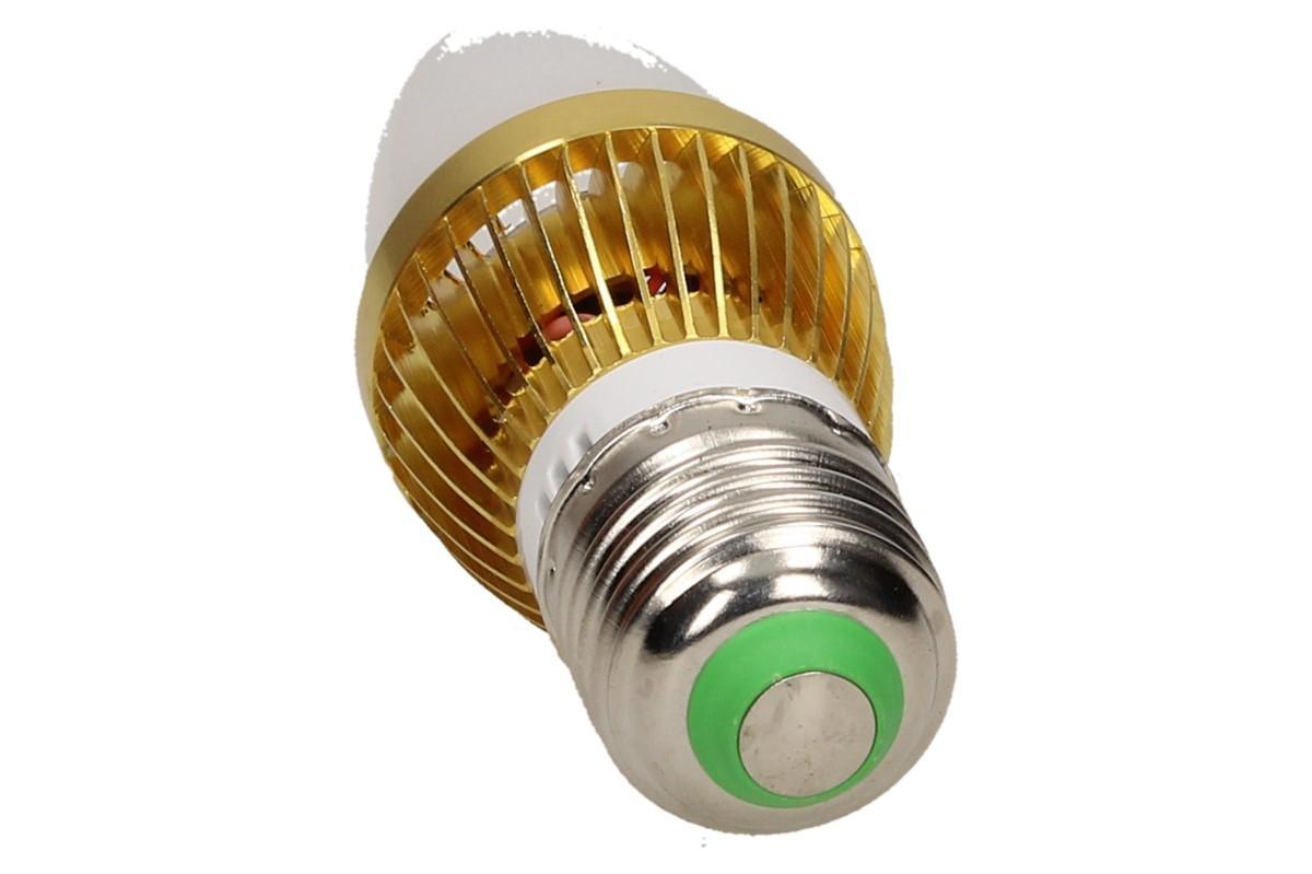 Foto 13 - LED úsporná žárovka RGB na dálkové ovládání 3W